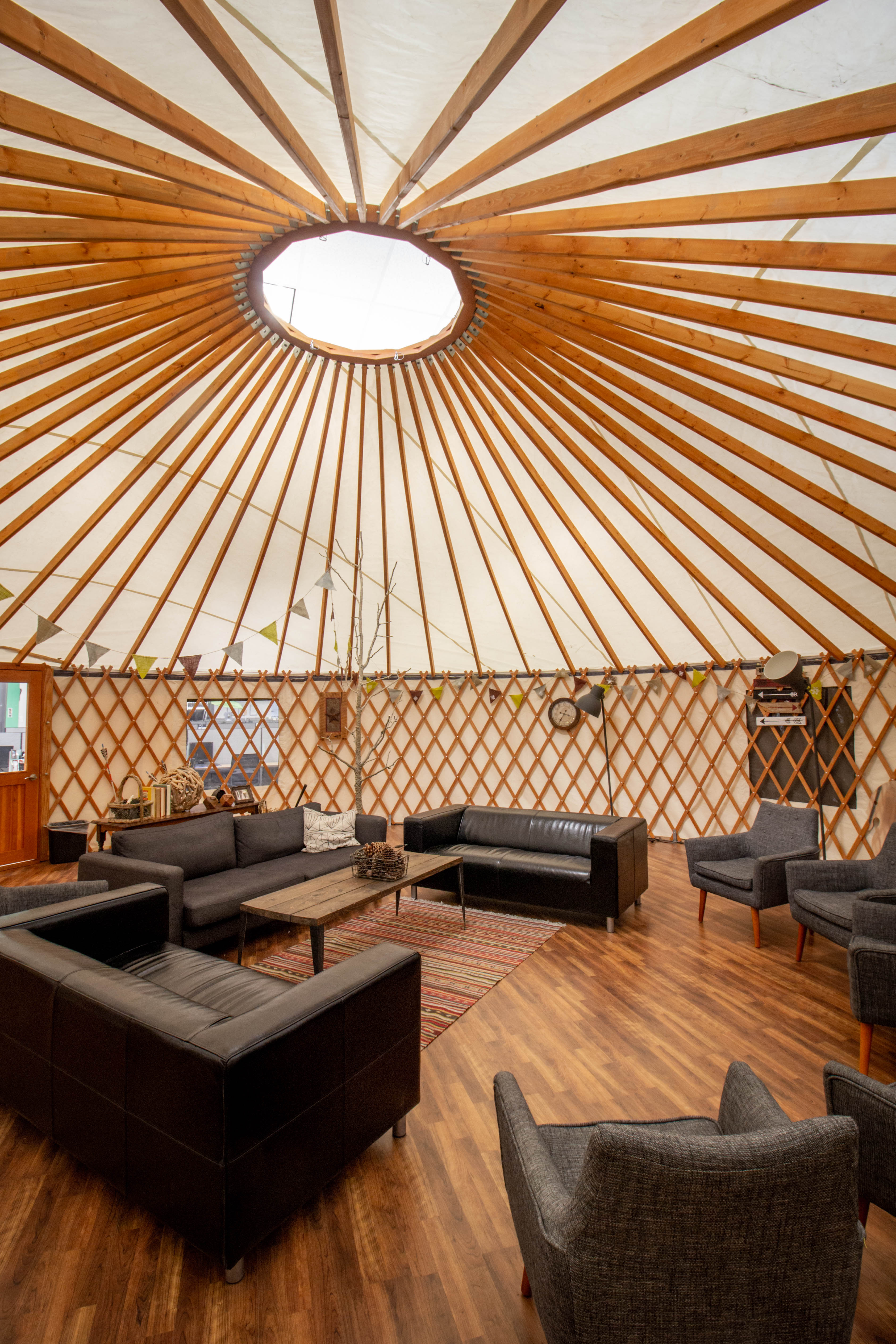 Back Country yurt hang out