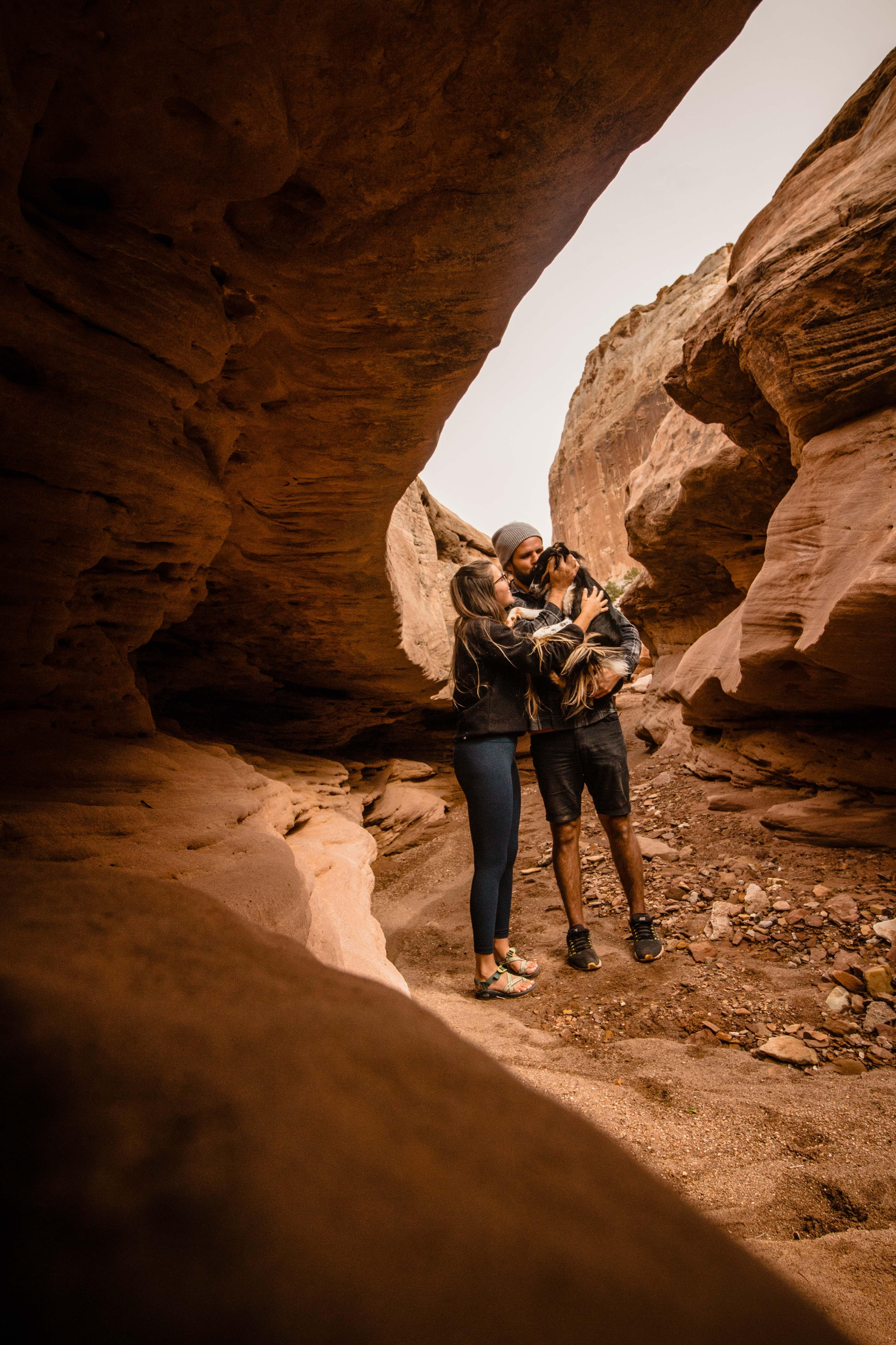 Nat Lou Parks slot canyon