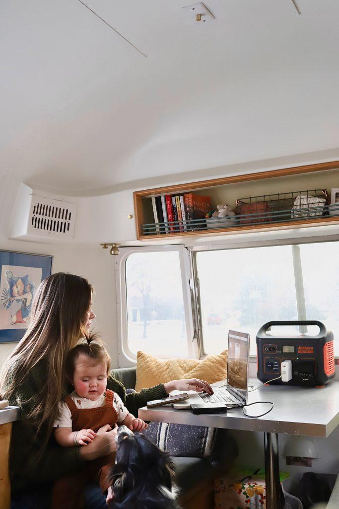 Airstream-Interior-Jackery-Portable-Battery