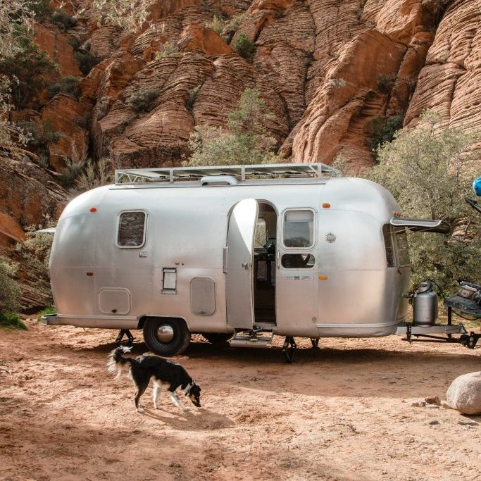 Airstream Parker sniffing