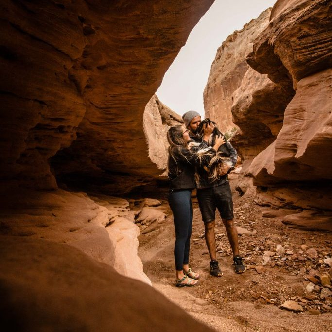 Nat Lou Parks slot canyon